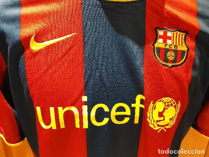 Coleccionismo deportivo: CAMISETA FC BARCELONA BARCA TEMPORADA 2010-11. NIKE. TALLA XL. SIN DORSAL. USADA BUEN ESTADO. - Foto 4 - 194238646