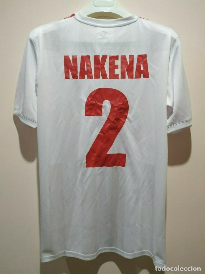 Coleccionismo deportivo: Camiseta casa matchworn Zanaco FC Zambia 19/20 Nakena talla XL - Foto 2 - 194246351
