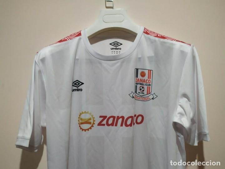 Coleccionismo deportivo: Camiseta casa matchworn Zanaco FC Zambia 19/20 Nakena talla XL - Foto 3 - 194246351