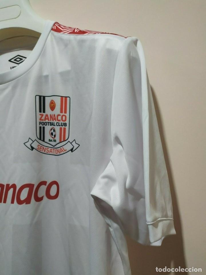 Coleccionismo deportivo: Camiseta casa matchworn Zanaco FC Zambia 19/20 Nakena talla XL - Foto 4 - 194246351