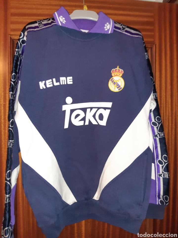Coleccionismo deportivo: Sudadera Real Madrid - Foto 3 - 194623997