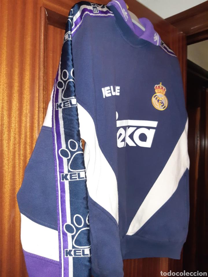 Coleccionismo deportivo: Sudadera Real Madrid - Foto 6 - 194623997