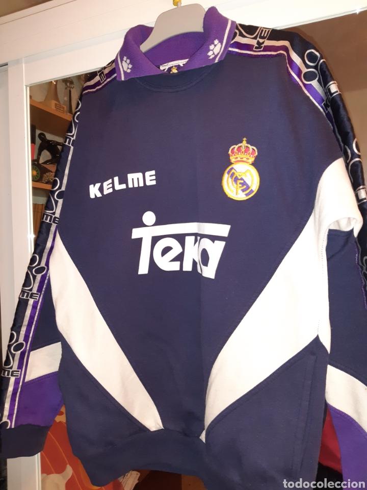Coleccionismo deportivo: Sudadera Real Madrid - Foto 13 - 194623997