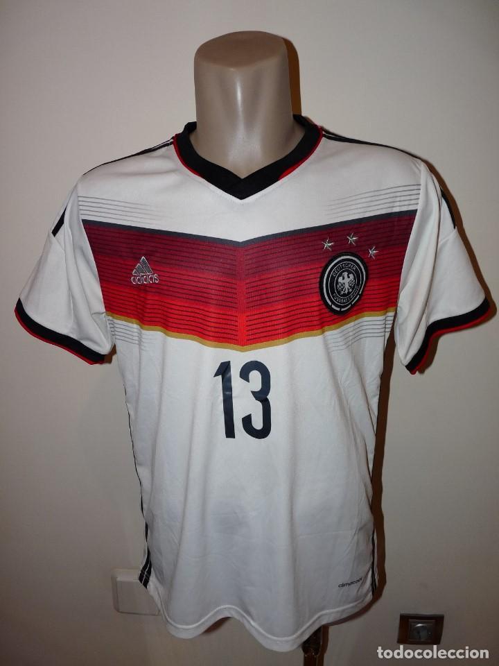 CAMISETA SELECCIÓN DE ALEMANIA ADIDAS RÉPLICA (Coleccionismo Deportivo - Ropa y Complementos - Camisetas de Fútbol)