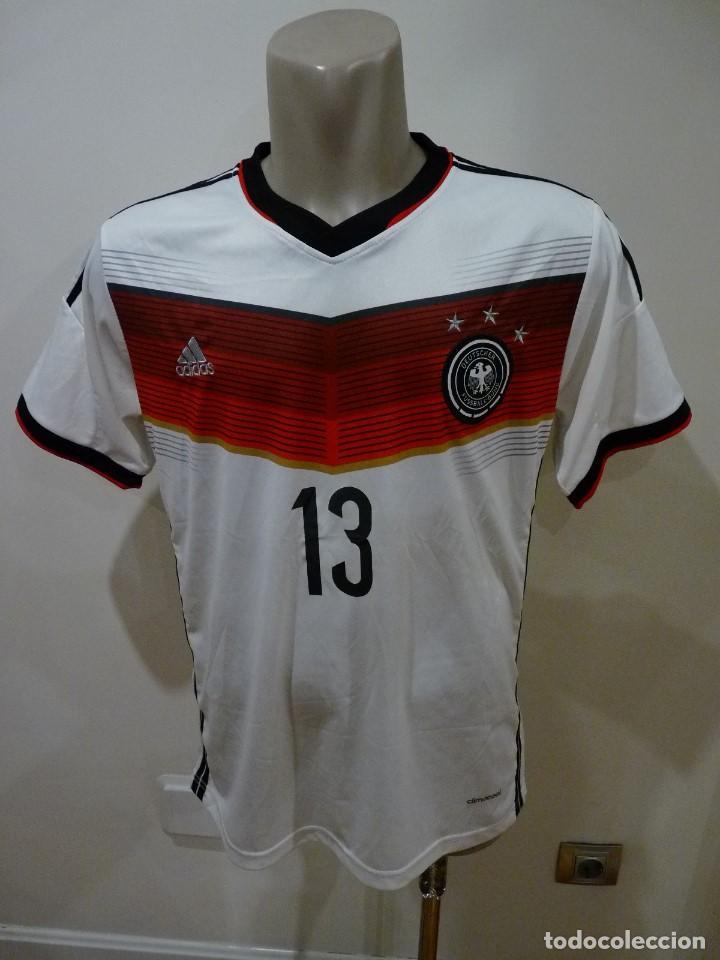 Coleccionismo deportivo: Camiseta Selección de Alemania Adidas Réplica - Foto 2 - 194872846