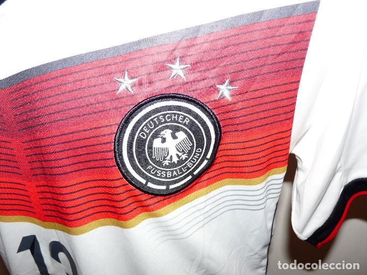 Coleccionismo deportivo: Camiseta Selección de Alemania Adidas Réplica - Foto 3 - 194872846