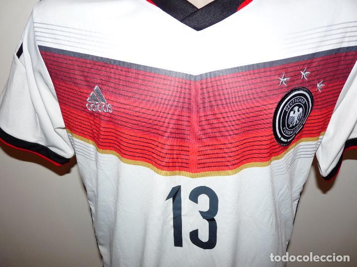 Coleccionismo deportivo: Camiseta Selección de Alemania Adidas Réplica - Foto 4 - 194872846