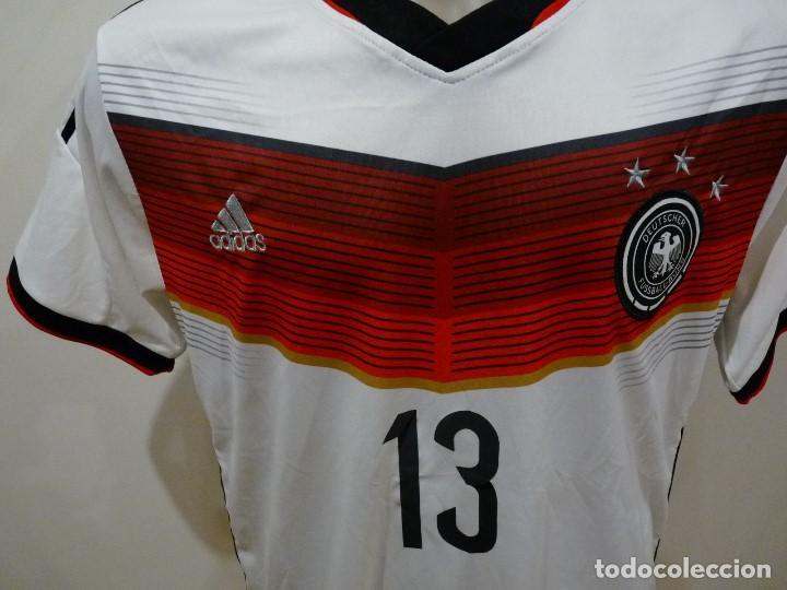 Coleccionismo deportivo: Camiseta Selección de Alemania Adidas Réplica - Foto 5 - 194872846