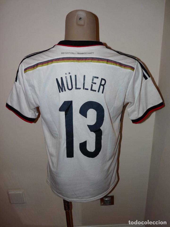 Coleccionismo deportivo: Camiseta Selección de Alemania Adidas Réplica - Foto 6 - 194872846