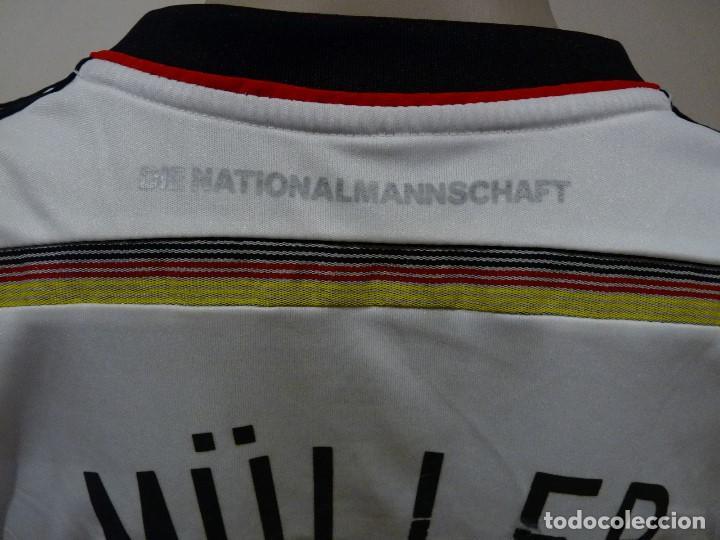 Coleccionismo deportivo: Camiseta Selección de Alemania Adidas Réplica - Foto 7 - 194872846
