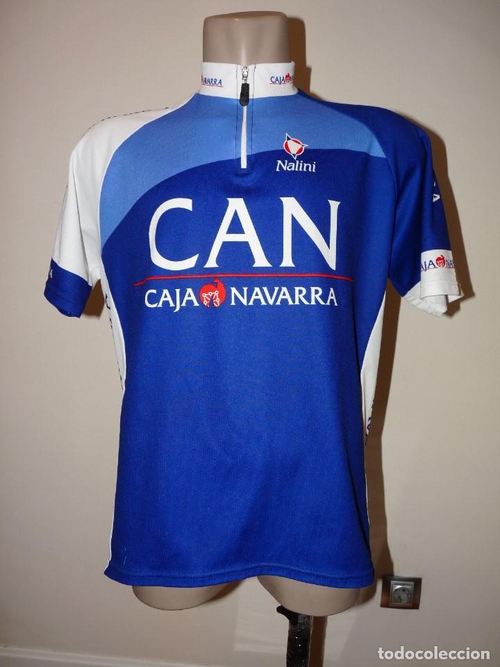 MALLOT CAJA NAVARRA NALINI (Coleccionismo Deportivo - Ropa y Complementos - Camisetas de Fútbol)