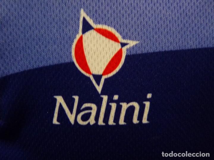 Coleccionismo deportivo: Mallot Caja Navarra Nalini - Foto 2 - 194876727