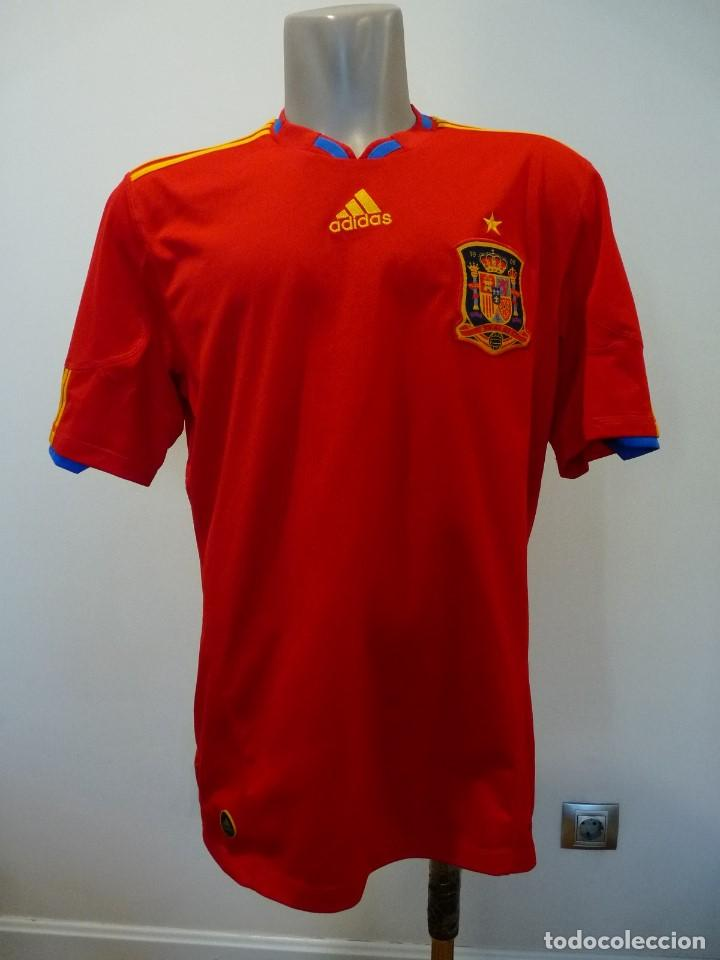 Coleccionismo deportivo: Camiseta Seleccion de España Adidas Piqué - Foto 2 - 194880238