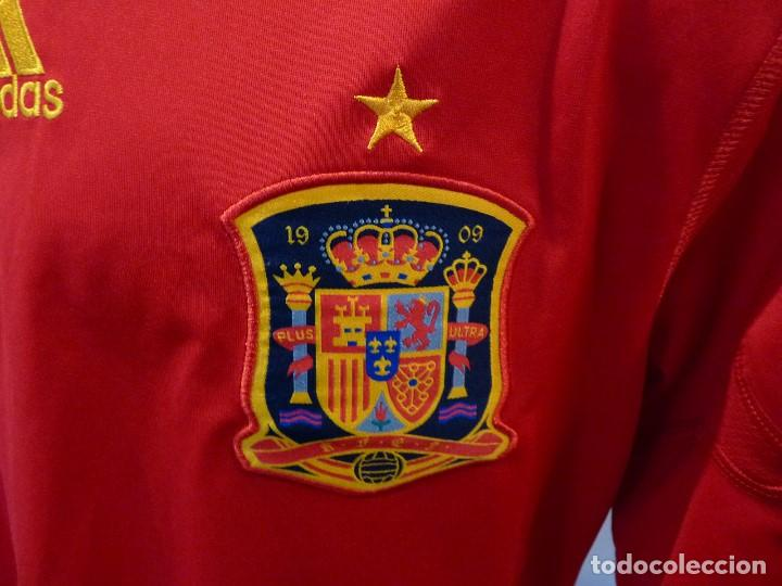 Coleccionismo deportivo: Camiseta Seleccion de España Adidas Piqué - Foto 4 - 194880238