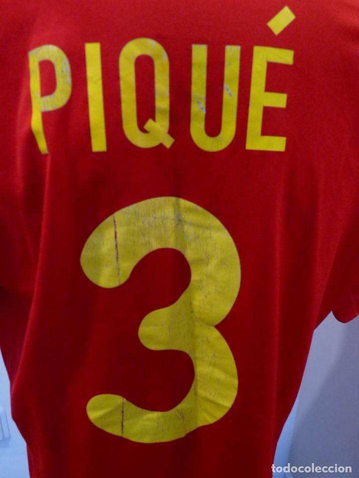 Coleccionismo deportivo: Camiseta Seleccion de España Adidas Piqué - Foto 8 - 194880238