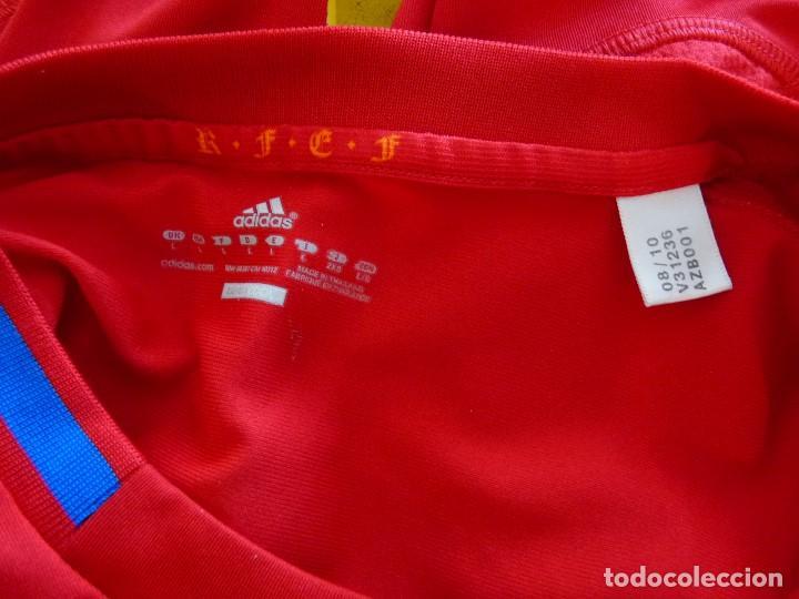 Coleccionismo deportivo: Camiseta Seleccion de España Adidas Piqué - Foto 9 - 194880238