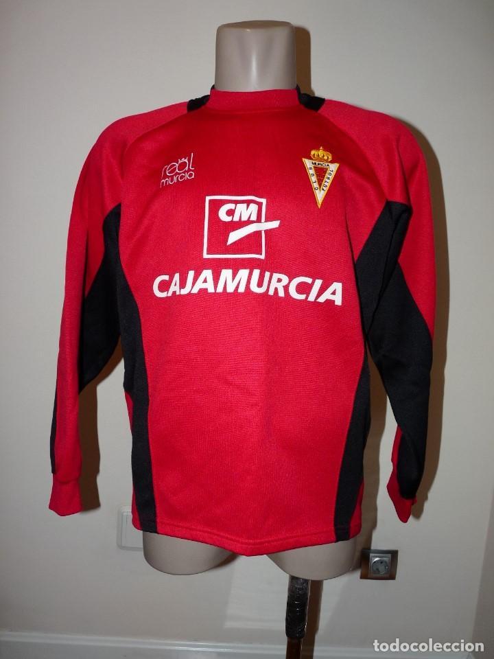 SUDADERA REAL MURCIA CF (Coleccionismo Deportivo - Ropa y Complementos - Camisetas de Fútbol)