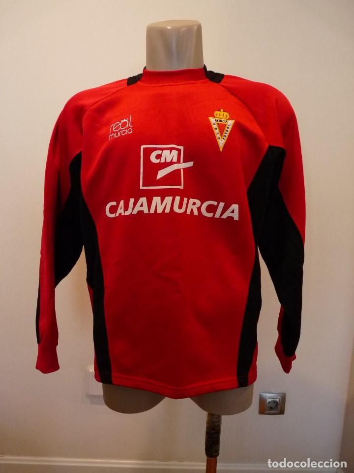 Coleccionismo deportivo: Sudadera Real Murcia CF - Foto 2 - 194881622