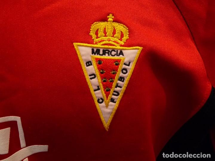 Coleccionismo deportivo: Sudadera Real Murcia CF - Foto 3 - 194881622