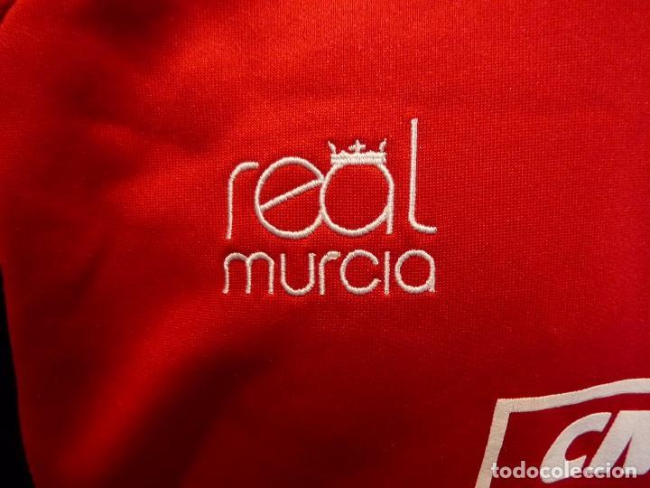 Coleccionismo deportivo: Sudadera Real Murcia CF - Foto 4 - 194881622