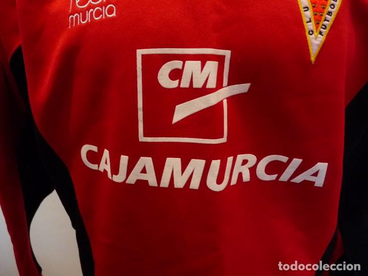 Coleccionismo deportivo: Sudadera Real Murcia CF - Foto 5 - 194881622