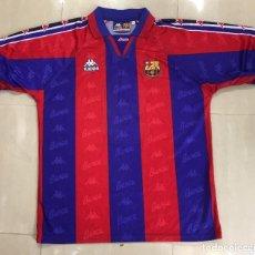 Coleccionismo deportivo: CAMISETA F C BARCELONA Nº 9 RONALDO TALLA M 1996-1997 KAPPA FUTBOL SHIRT TRIKOT MAGLIA VINTAGE. Lote 194942333