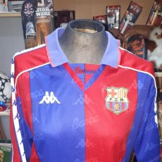Coleccionismo deportivo: ANTIGUA CAMISETA FC BARCELONA BARCA BARSA KAPPA TALLA M USADA. Lote 195033362