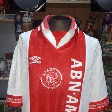 Coleccionismo deportivo: ANTIGUA CAMISETA UMBRI AJSX AMSTERDAM ABN AMRO TALLA XL. Lote 195034911