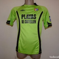 Coleccionismo deportivo: CAMISETA PLAYAS DE CASTELLON FUTBOL SALA UMBRO. Lote 195119846