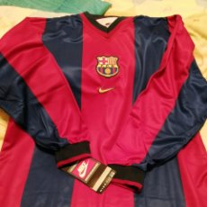 Collectionnisme sportif: CAMISETA BARÇA 1998 MANGA LARGA ORIGINAL NIKE SIN ESTRENAR. Lote 195341280