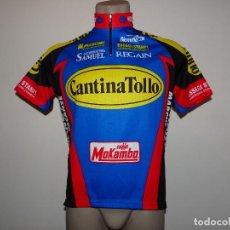 Coleccionismo deportivo: MAILLOT CANTINA TOLLO BIEMME. Lote 195408835