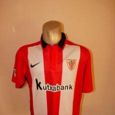 Coleccionismo deportivo: CAMISETA ATHETIC CLUB DE BILBAO NIKE KUTXABANK. Lote 195410963