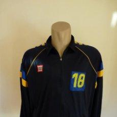 Coleccionismo deportivo: CHAQUETA MEYBA CLUB BALONCESTO CAJA BILBAO. Lote 195465910