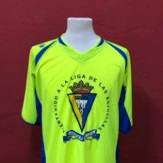 Collectionnisme sportif: CAMISETA CADIZ CF ASCENSO 2004/05 A PRIMERA. Lote 196610926