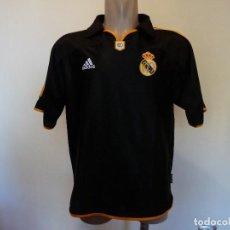 Coleccionismo deportivo: CAMISETA REAL MADRID CF ADIDAS NEGRA. Lote 198518853