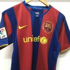 Coleccionismo deportivo: CAMISETA. FC BARCELONA. NIKE OFICIAL 50 ANIVERS CAMP NOU VER FOTOS. TALLA S. Lote 198919267