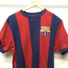 Coleccionismo deportivo: CAMISETA. FC BARCELONA. RETRO AÑOS 70 OFICIAL NIKE. TALLA S. Lote 198919428