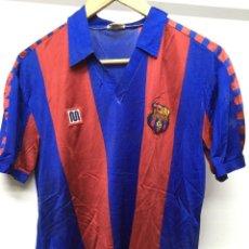 Coleccionismo deportivo: CAMISETA FCB. MEYBA, ORIGINAL. TALLA S. MARADONA (SIN DORSAL). Lote 198920146