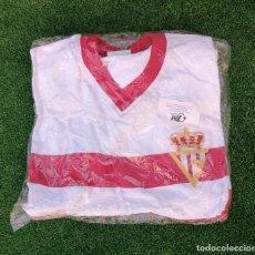 Coleccionismo deportivo: CAMISETA SPORTING DE GIJON MODELO ANTIGUO NUEVA TALLA M RETRO. Lote 198977650