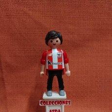Coleccionismo deportivo: PLAYMOBIL CUSTOM FUTBOL AFICIONADO DEL ATHLETIC CLUB ( 1= 8 - 3 = 20 ) COMBINABLE PLAYMOBIL CUSTOM . Lote 200321616