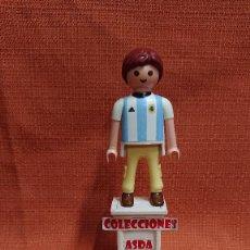 Coleccionismo deportivo: PLAYMOBIL CUSTOM FUTBOL AFICIONADO DE ARGENTINA ( 1= 8 - 3 = 20 ) COMBINABLE PLAYMOBIL CUSTOM . Lote 200323737