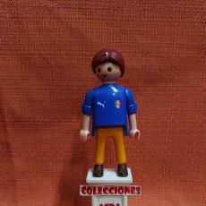 Coleccionismo deportivo: PLAYMOBIL CUSTOM FUTBOL AFICIONADO DE ITALIA ( 1= 8 - 3 = 20 ) COMBINABLE PLAYMOBIL CUSTOM . Lote 200323862