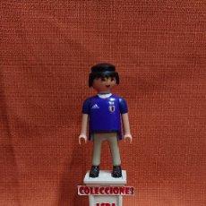 Coleccionismo deportivo: PLAYMOBIL CUSTOM FUTBOL AFICIONADO DE JAPON ( 1= 8 - 3 = 20 ) COMBINABLE PLAYMOBIL CUSTOM . Lote 200324001