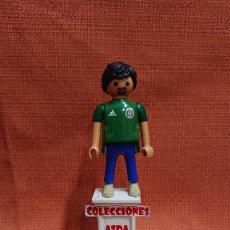Coleccionismo deportivo: PLAYMOBIL CUSTOM FUTBOL AFICIONADO DE MEXICO ( 1= 8 - 3 = 20 ) COMBINABLE PLAYMOBIL CUSTOM . Lote 200324097