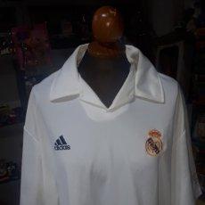 Coleccionismo deportivo: CAMISETA ORIGINAL CENTENARIO REAL MADRID ADIDAS TALLA L USADA. Lote 201840206