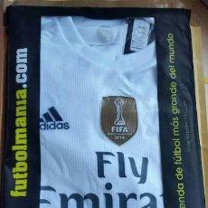 Coleccionismo deportivo: CAMISETA OFICIAL REAL MADRID - TEMPORADA 2015/16 - 2016/17. Lote 202323537