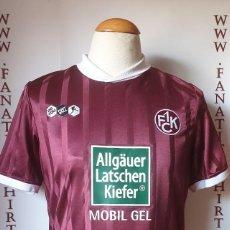 Coleccionismo deportivo: 1.FC KAISERSLAUTERN 2010-2011 CAMISETA FUTBOL DO YOU FOOTBALL SHIRT TRIKOT. Lote 202642903