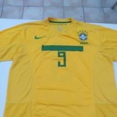 Coleccionismo deportivo: CAMISETA DE BRASIL N. 9 RONALDO. Lote 202995947