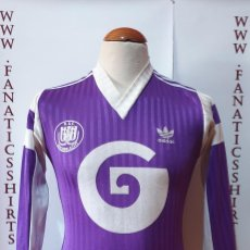 Coleccionismo deportivo: R.S.C ANDERLECHT 1989-1990 CAMISETA FUTBOL ADIDAS AWAY. Lote 203242462