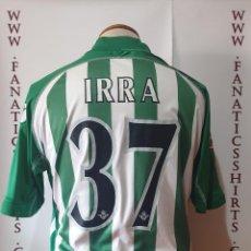 Coleccionismo deportivo: Nº37 IRRA R.BETIS 2009-2010 PLAYER ISSUE CAMISETA FUTBOL RBB. Lote 203589813
